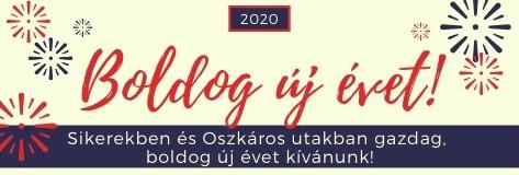 Sikerekben és Oszkáros utakban gazdag 2020-at kívánunk!