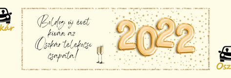 Sikeres új évet kíván az Oszkár!